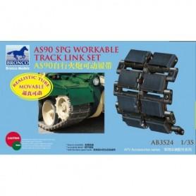 Bronco 3524 AS90 SPG Workable Track Link Set