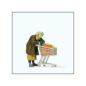 Preiser 29095 Hemlös kvinna, 1 figur