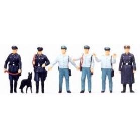 Merten H0 2561 Poliser, Tyska DDR, 6 figurer