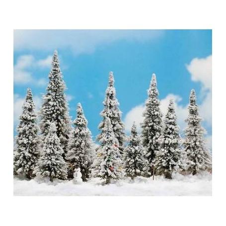 Busch 6465 Vintergranar, 10 st, snögubbe, snöpuder