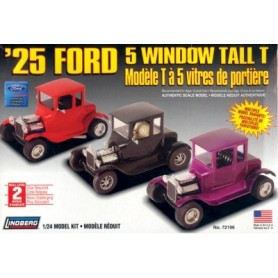 "Lindberg 72196 Ford 5 Window Tall T 1925 ""Multiple Model Variants"""