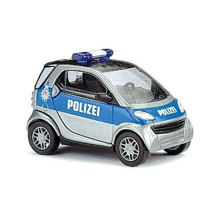 Busch 48929 Smart City Coupé Polizei Hamburg II