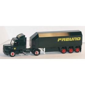 "Herpa 2679 Scania Hauber 143 Bil & Glastransport ""Freund"""