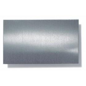 K&S 254 Förtennad plåt, stål 'spacklat' med tenn, mått 0.2 x 100 x 250 mm, 1 st