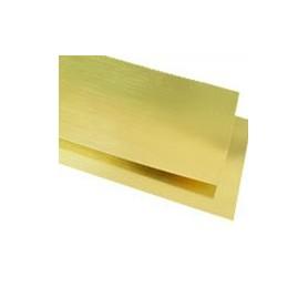 K&S 258 Mässingplåt, sortiment. 3 st med längd ca 15 cm, bredd ca 7.5 cm, 3 olika tjocklekar, 1 st med mått 10 x 10 cm