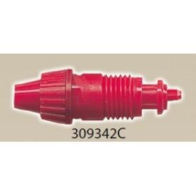Aztek 9342C Munstycke, 0,53 mm, röd