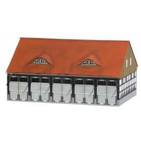 """Busch 1451 Garageutbyggnad för brandstation """"Schwenningen"""""""