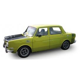 Herpa 034357 Simca Rallye II, grönmetallic