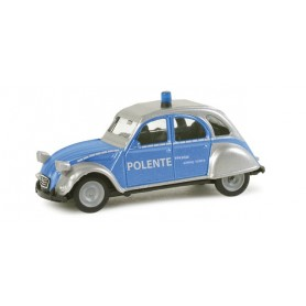"Herpa 048491 Citroen 2 CV ""Schleswig Holtstein police department"""