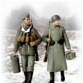 "Master Box 3553 Figurer ""Supplies, at last!"" German soldiers, 1944-1945"