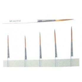 "Italeri 51262 Pensel ""Script Liner Synthetic Brushes"", storlek 00"
