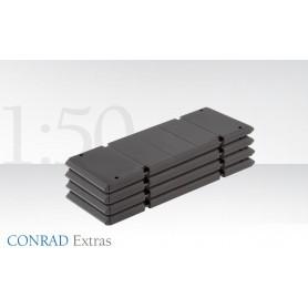 Conrad 999130 Basplattor för LG 1750 (4 stycken)