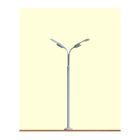 Brawa 5801 Gatlampa, dubbelarm, 2 st, höjd 115 mm