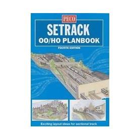 "Peco STP00 Spårplansbok för Peco H0/00-skala ""Fourth Edition"", 72 sidor i färg"