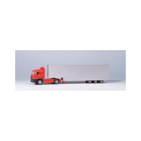 Herpa 7161 MAN F90 Bil & Jumbotrailer