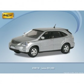 Ricko 38118 Lexus RX350, silver, PC-Box