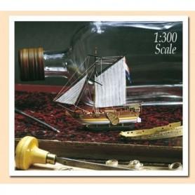 "Amati 1350 Flaskskepp ""Golden Yacht"" 1678"