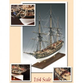 Amati 1300.03 HMS FLY 1776 - Victory Models Serie
