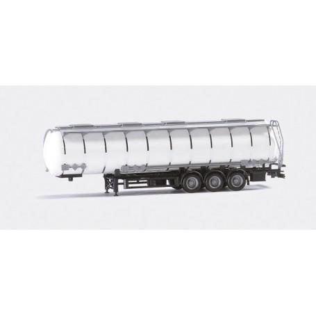 Herpa 075619 Jumbo tank trailer 3a, white