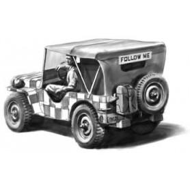 """Hasegawa 36011 Jeep Willys MB """"Follow Me"""""""