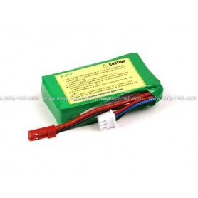 E-Sky 000173 Li-Po Batteri 7.4V 800mAh Li-polymer, mått ca 56 x 30 x 20 mm