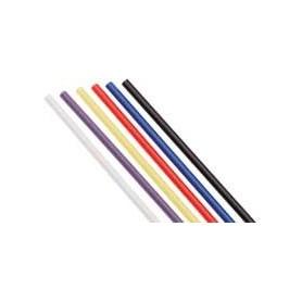 Du-Bro 2339 Antennrör, blå, med svart gummihatt, 30 cm