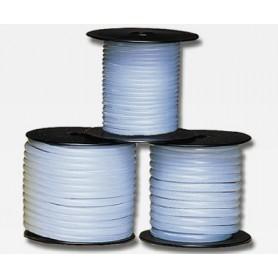 Du-Bro 196 Bränsleslang, silikonslang, blå, 1.6 mm i.d.