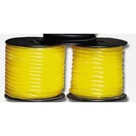 Du-Bro 554 Bränsleslang, tygonslang, gul, 4.0 mm i.d., längd 90 cm