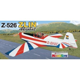 Great Planes GPMA1024 El Flygplan ZLIN Akrobat Z-526 GP/EP Sport Aerobat ARF Almost Ready-To-Fly
