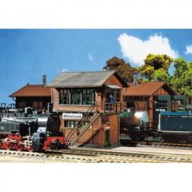 Faller 252161 Ställverk »Mittelstadt«, färdigmodell