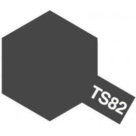 """Tamiya 85082 Sprayfärg TS-82 """"Rubber Black"""", innehåller 100 ml"""