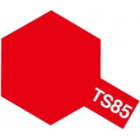 """Tamiya 85085 Sprayfärg TS-85 """"Bright Mica Red"""", innehåller 100 ml"""