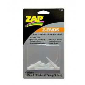 ZAP PT18C Doseringsspetsar för ZAP limmer, 10 st