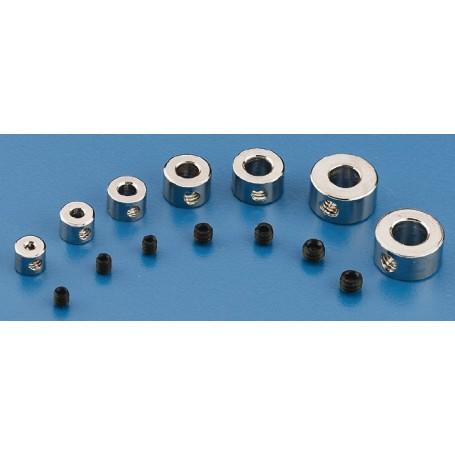 """Du-Bro 138 Stoppring, 4 st, 3/32"""", 2,4 mm innerdiameter"""