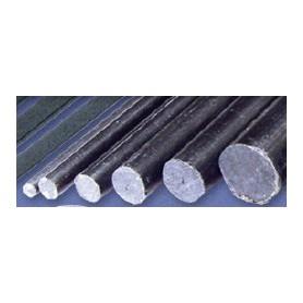 Texson 035105 Kolfiberstång 6 mm, längd 600 mm, 1 st