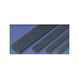 Texson 035131 Kolfiberremsa, bredd 8 mm, tjocklek 1.2 mm, längd 1000 mm, 1 st