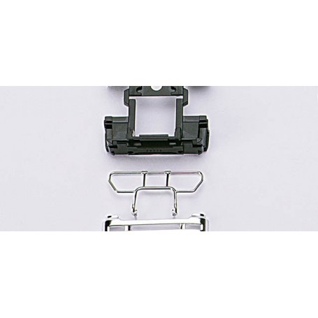 Herpa 051385 Bumper with crash protector Mercedes Benz Actros LH, 4 pieces