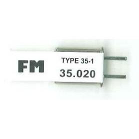 Futaba 103062 Sändarkristall TX FM 35.020