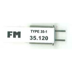 Futaba 103072 Sändarkristall TX FM 35.120