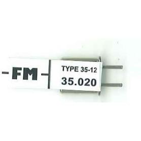 Futaba 106062 Mottagarkristall RX FM 35.020