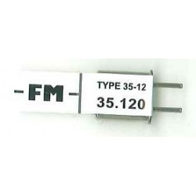 Futaba 106072 Mottagarkristall RX FM 35.120