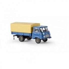 Brekina 30500 Lastbil med skåp Robur LO 2500 PP, blå