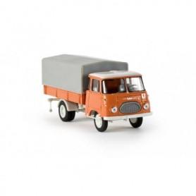 Brekina 30501 Lastbil med skåp Robur LO 2500 PP, orange