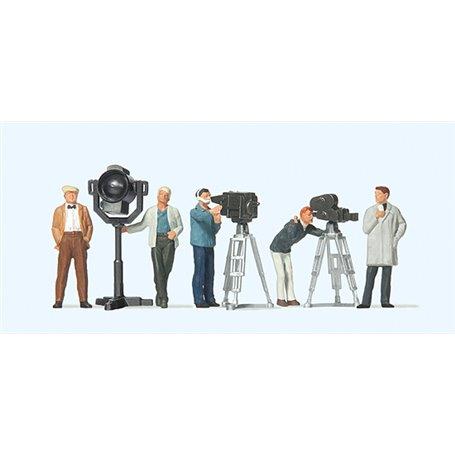 Preiser 10062 Filmteam med kameror och belysning