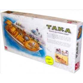 "Türkmodel 121 TAKA ""Black Sea Fishing Boat"", byggsats i trä"