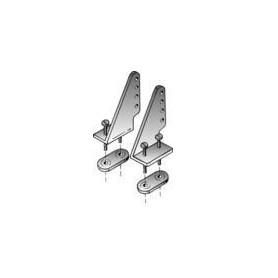 Du-Bro 105 Roderhorn, nylon, 28 mm hög, 1 par (vänster och höger)