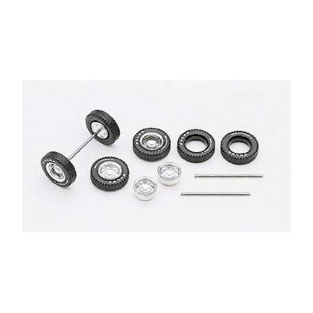 Herpa 050852 Complete set of Fulda wheels for 5 axles