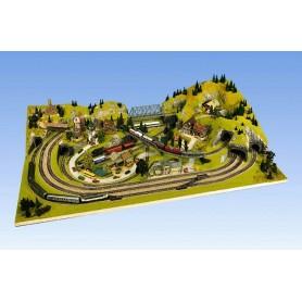 "Noch 61840 Grundset Terra Form Layout ""Ravensburg"", 200x120 cm"
