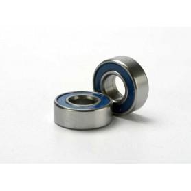 Traxxas 5116 Kullager, blå gummisköld, 5x11x4 mm, 2 st