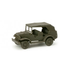 Herpa 743372 Dodge old jeep version